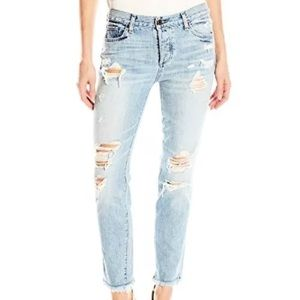 NWT Lucky Brand Mid Rise Sienna Slim BF Jeans